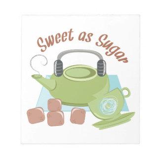 Sweet As Sugar Notepad