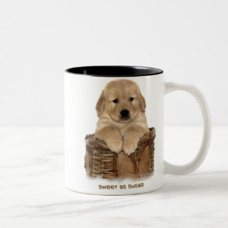 Sweet as Sugar Two-Tone Coffee Mug