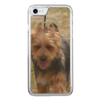 Sweet Australian Terrier Carved iPhone 7 Case