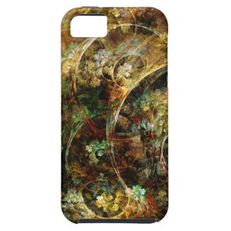 Sweet Autumn Abstract Fractal Art Case For The iPhone 5