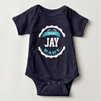 Sweet Baby and Your Baby's Name Custom Baby Bodysuit