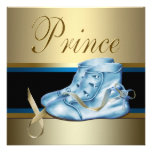 Sweet Baby Blue and Gold Prince Baby Shower