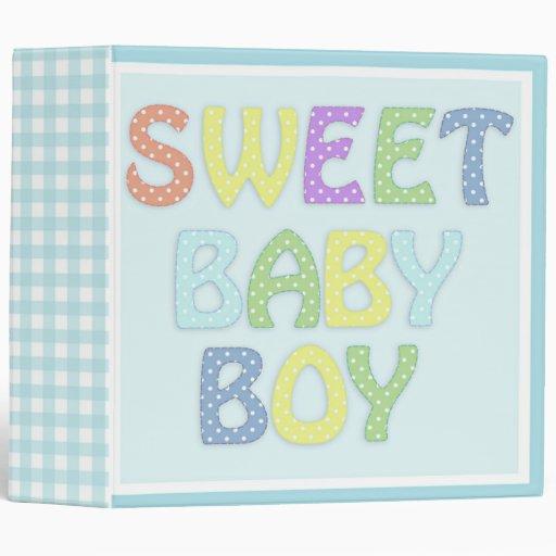 Sweet baby Boy binder