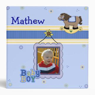 Sweet Baby Boy Memory Album Binder
