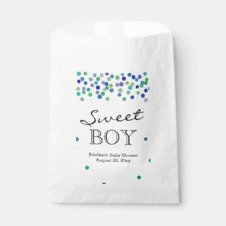 Sweet Baby Boy Shower Candy Buffet Favour Bag