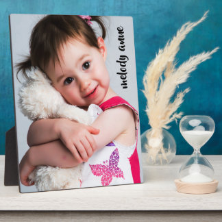 Sweet Baby/Child Photo Template Plaque