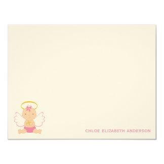 "Sweet Baby Custom Flat Thank You Notes 4.25"" X 5.5"" Invitation Card"