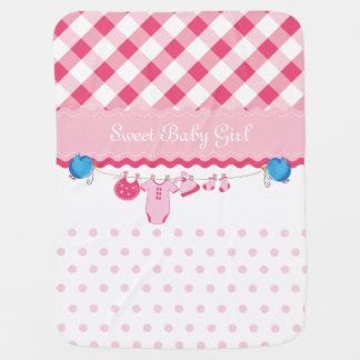 Sweet Baby Girl Baby Blanket