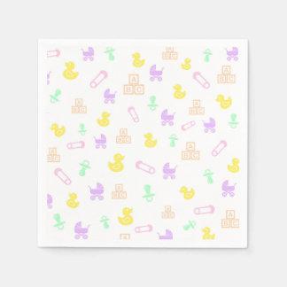 Sweet Baby Girl Paper Napkin