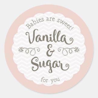 Sweet Baby Shower favor sticker 2