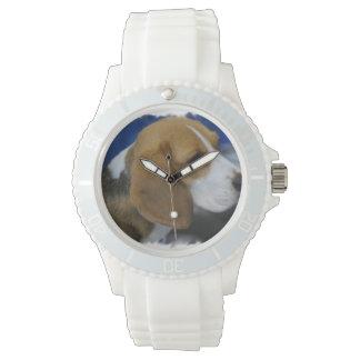 Sweet Beagle Wristwatch