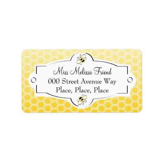 Sweet Bee Label