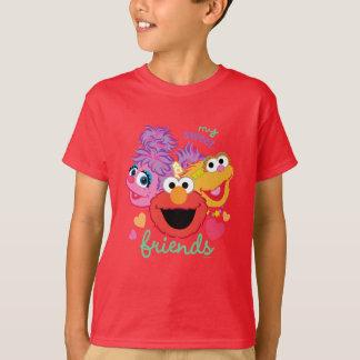 Sweet Best Friends Characters T-Shirt