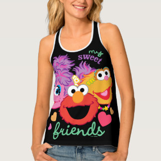 Sweet Best Friends Characters Tank Top