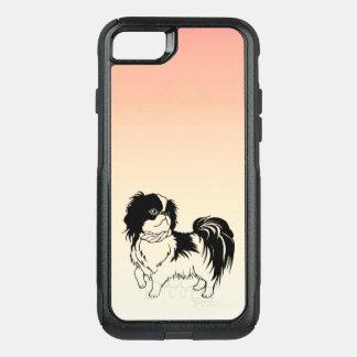 Sweet Black and White Dog OtterBox iPhone 7 Case