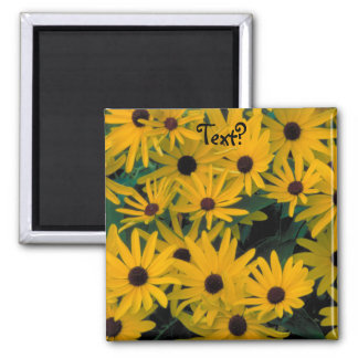 Sweet Black Eyed Susans FlowersFridge Magnet