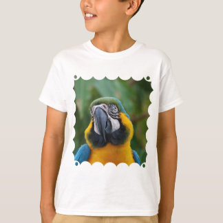 Sweet Blue and Gold Macaw T-Shirt