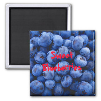 Sweet Blueberries Magnet