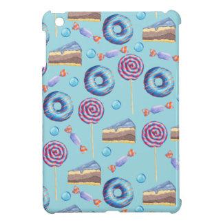 Sweet Blueberry Treats Pattern iPad Mini Covers