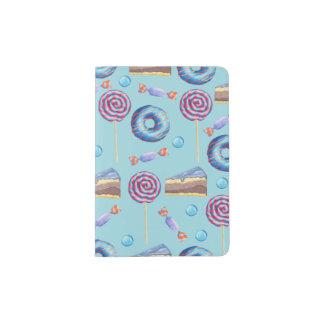 Sweet Blueberry Treats Pattern Passport Holder