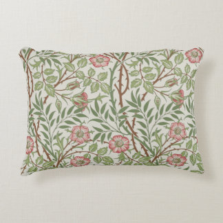 Sweet Briar by William Morris Accent Pillow