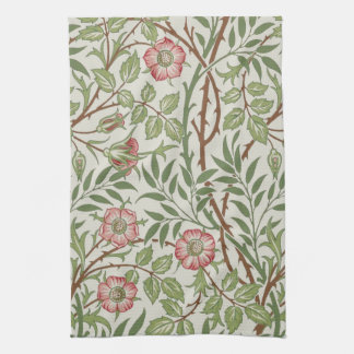 Sweet Briar by William Morris Kitchen Towels