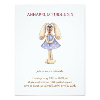 Sweet Bunnies · Bunny & Rose Card