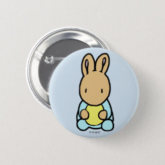 Sweet Bunny, 2¼ Inch Round Button
