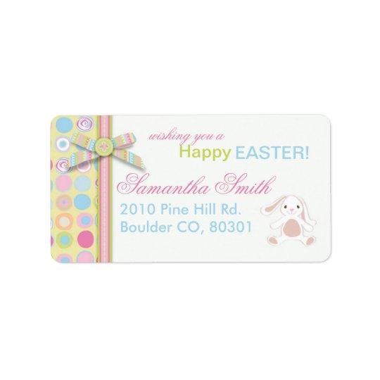 Sweet Bunny Address Label