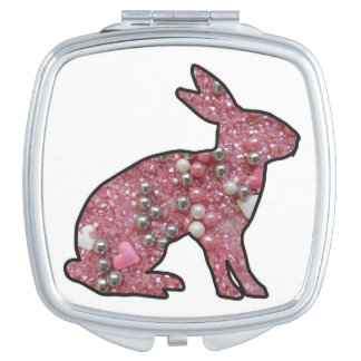Sweet Bunny Makeup Mirror