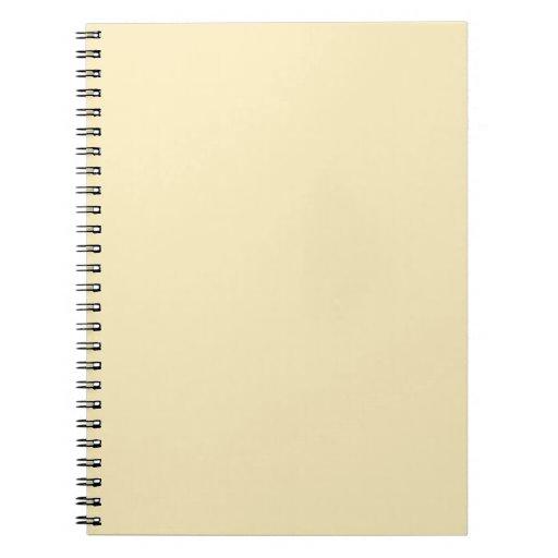 Sweet Butter Spiral Notebooks