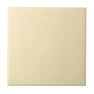 Sweet Butter Ceramic Tile