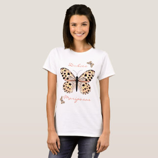 Sweet butterflies in pink tones T-Shirt