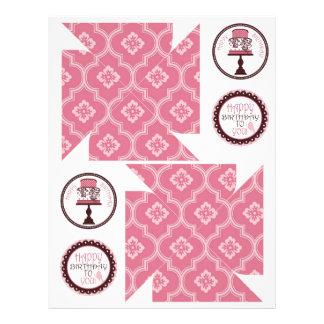 Sweet Cake Pinwheel Template 2 Flyer Design