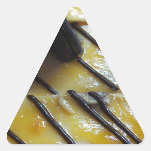 Sweet Cake Triangle Stickers