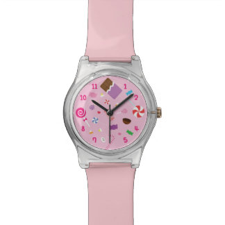 Sweet Candy and Chocolate Girls Watch