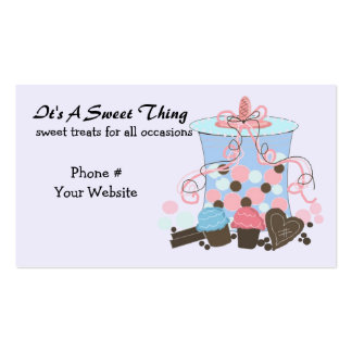 Sweet Candy and Treats Business Card