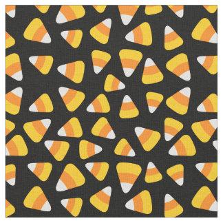 Sweet Candy Corn Halloween Fabric