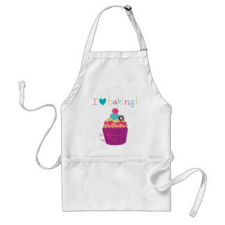 Sweet Candy I Love Baking cupcake apron