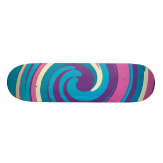 sweet candy skateboard deck