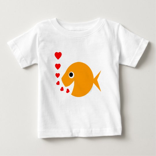 Sweet Cartoon Goldfish Valentine Creeper