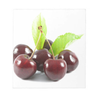 sweet-cherries notepad