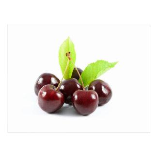 sweet-cherries postcard