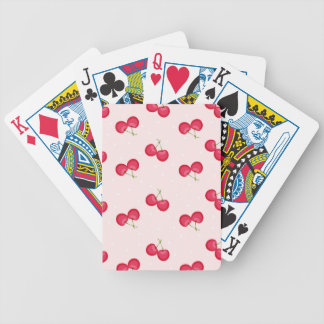 Sweet Cherries Unique Pattern Bicycle Playing Cards