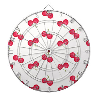 Sweet Cherries Unique Pattern Dartboard