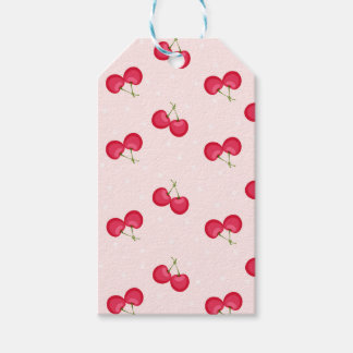Sweet Cherries Unique Pattern Pack Of Gift Tags