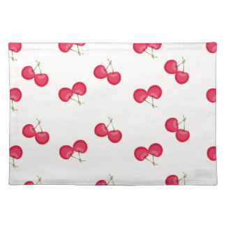 Sweet Cherries Unique Pattern Placemat