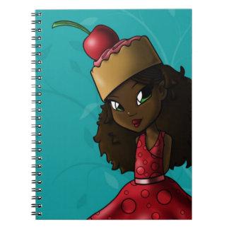 Sweet Cherry Cake Iman Notebook