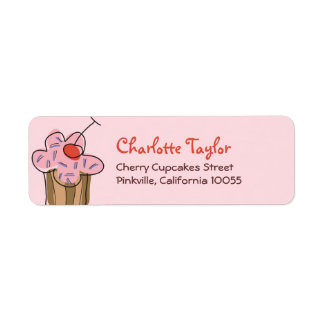 Sweet Cherry Cupcakes Confectionery Bakery Cute