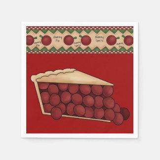 Sweet Cherry Pie paper napkins